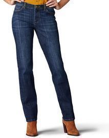 Women's Lee Relaxed Fit Straight-Leg Jeans