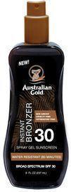 Australian Gold Spray Gel Sunscreen with Instant Bronzer SPF 30
