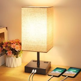 Mlambert 3-Way Dimmable Modern Lamp w/ Touch Control