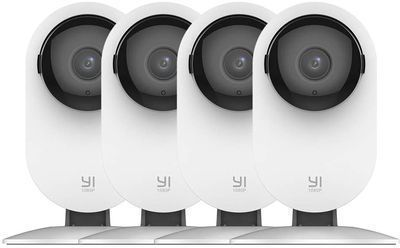 Yi 4-Pc. Home Camera Security System