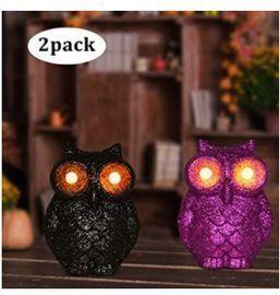 3D Owl Decoration Light - 2pk