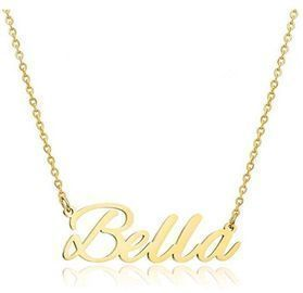 Personalized Name Necklace -> Names B-G