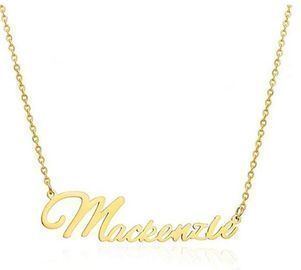 Personalized Name Necklace -> Names M-P
