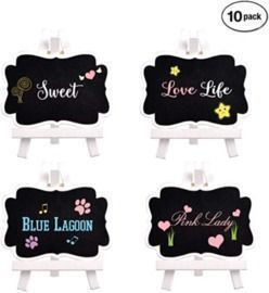 Mini Chalkboards Pack of 10
