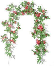 71 Artificial Chrysanthemum Vine Wall Decor (3 Styles)