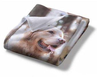 50x 60 Custom Photo Fleece Throw Blanket