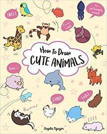 How to Draw Cute Animals (Volume 2) Paperback