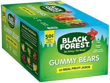 24pk of Black Forest Gummy Bears Candy, 1.5 Ounce