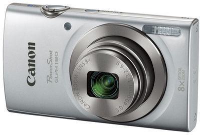 Refurbished Canon PowerShot ELPH 180 Silver