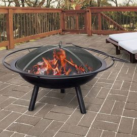 Halo Steel Wood Burning Fire Pit