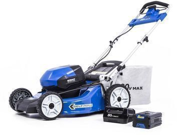 Kobalt 80V Max Brushless Lithium Ion Self-Propelled 21 Cordless Electric Lawn Mower