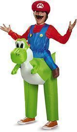 Super Mario Bros: Ride a Yoshi Inflatable Child Costume