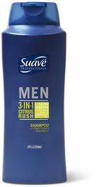 Suave Men 3-in-1 Shampoo Conditioner Body Wash 28-oz. Bottle