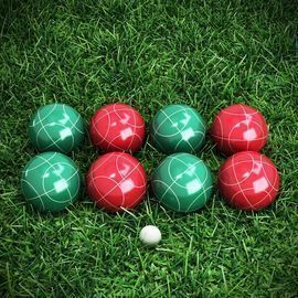 89mm Bocce Set w/ Carrying Case