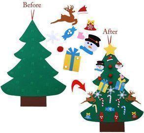 Autiy Kids DIY Felt Christmas Tree Set