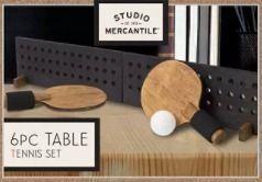 Game Desktop Table Tennis Wood