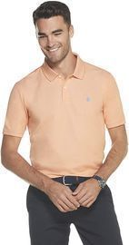 IZOD Men's Advantage Performance Heather Polo Tee (Various Colors)