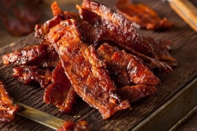 3oz Bags of Maple Bacon Jerky