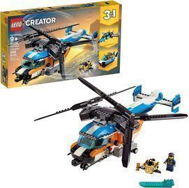 LEGO Creator 3-in-1 Helicopter Building Kit (569 Pieces)