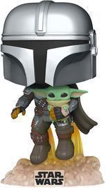 Funko Pop! Star Wars: The Mandalorian: Flying w/ The Child Pre-Purchase