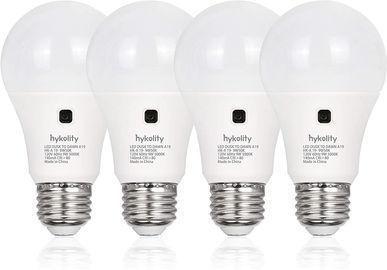 4 Pack of Dusk to Dawn A19 LED Light Bulbs (3000K, 800LM)