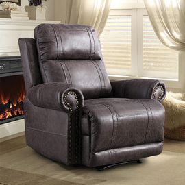 Boyel Living Classic Leather Recliner Chair