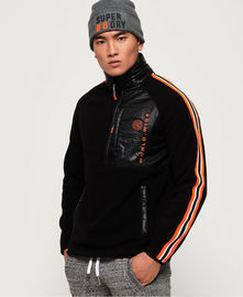 Surperdry Men's Mountain Polar Fleece Half Zip Jacket