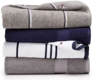Tommy Hilfiger Cotton Bath Towels