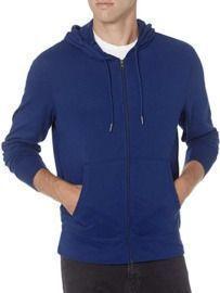 Amazon Essentials Men's Lightweight Jersey Full-Zip Hoodie