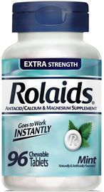 Rolaids Extra Strength Tablets Mint, 96 ea