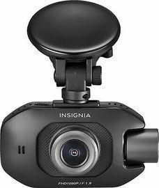 Insignia Front and Rear-Facing Camera Dash Cam, Black