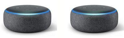 Echo Dot (3rd Gen) Smart Speaker x 2