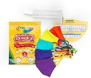 Crayola Kids Face Masks, 5pk