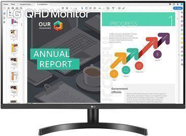 LG 32QN600-B 32 2560x1440 QHD HDR FreeSync IPS Monitor
