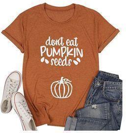 Maternity Pumpkin Tee