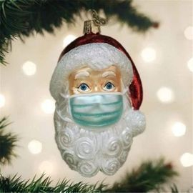 Gergeos 2020 Santa Claus Ornaments