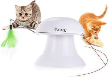 DADYPET 2 in 1 Automatic Cat Laser + Interactive Feather Toy