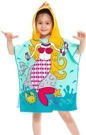 Toddler Hooded Beach Bath Towel