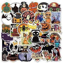 Halloween Stickers - 54 Pack