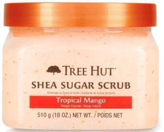 Tree Hut Shea Sugar Scrub Tropical Mango, 18oz