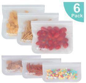 Reusable Sandwich Bags - 6 Pack