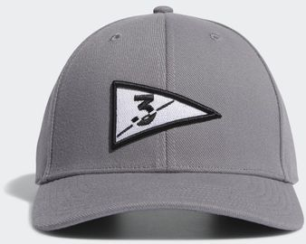 adidas Grey Golf Flag Three Hat