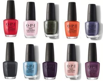 OPI Nail Polish - Scotland Collection Colors