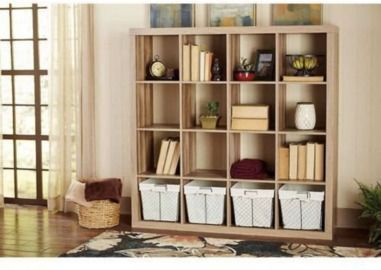 Better Homes and Gardens 16 Cube Storage Organizer