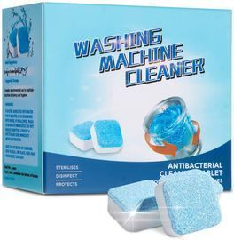 12pk of CHARMINER Solid Washing Machine Cleaner