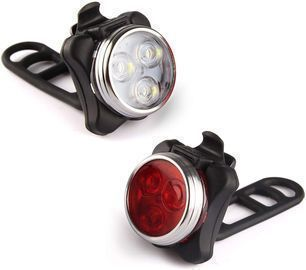 Ascher Rechargeable Front & Rear Bicycle Light Set