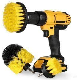 3pc. Scrub Brush Drill Attachment Kit