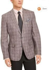 Slim-Fit Plaid Sport Coat