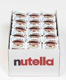 120 Count Nutella Chocolate Hazelnut Spread, 0.52 oz Single Serve Mini Cups