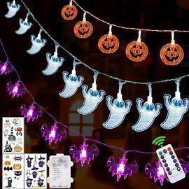 3pk Halloween Outdoor Light Sets